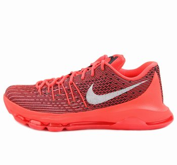 Nike KD 8 Bright Crimson Keivn Durant Shoes Red White Shoes