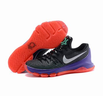 Nike KD 8 Black Purple Red Shoes