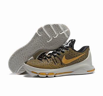 Nike KD 8 gold gray Shoes