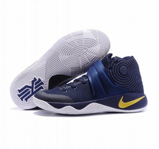 low priced 32733 4bc15 Kyrie 2 shoes blue yellow white, Nike Kyrie Irving Shoes ...